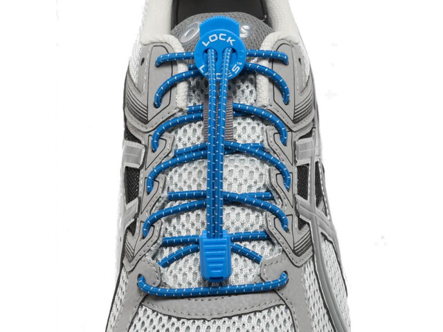Lock Laces Run Laces, royal blue